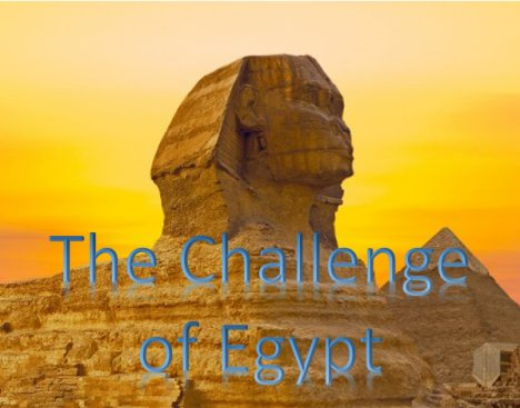 The Challenge of Egypt